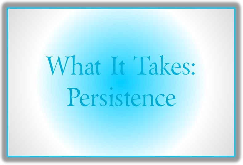 Blog Post 61 What It Takes Persistence