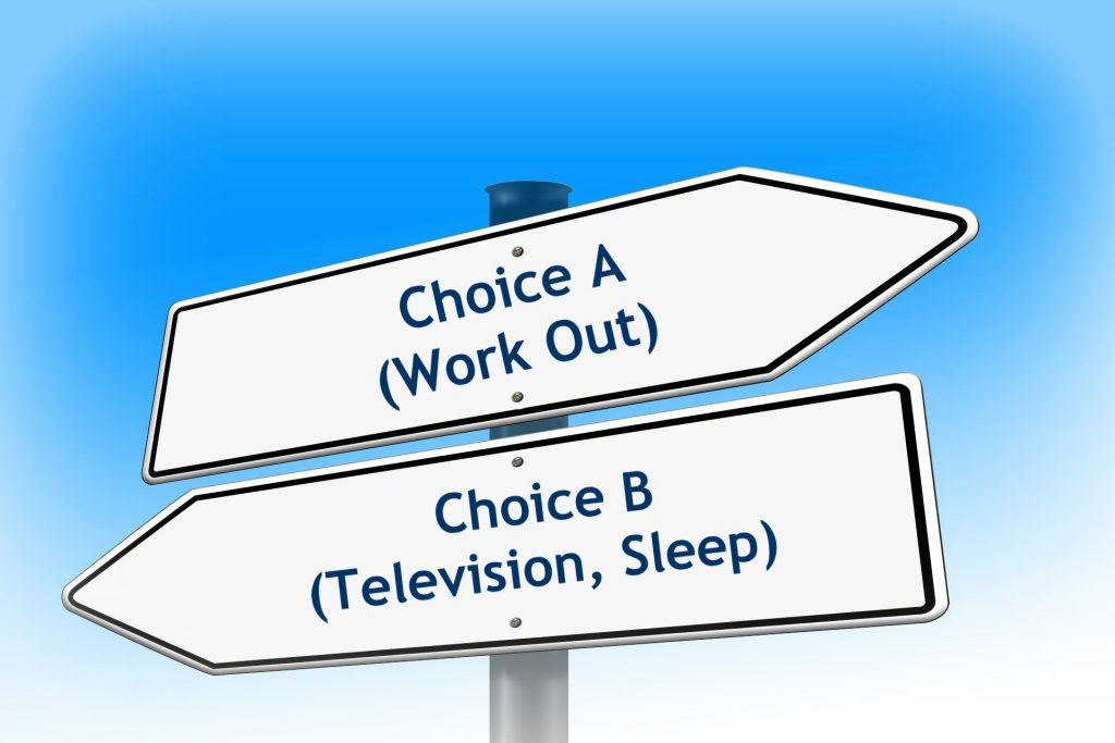 Choice A or B? Which Way to Go?