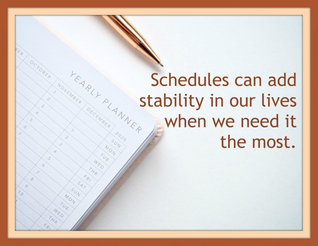 5 Reasons Why Schedules Are Great