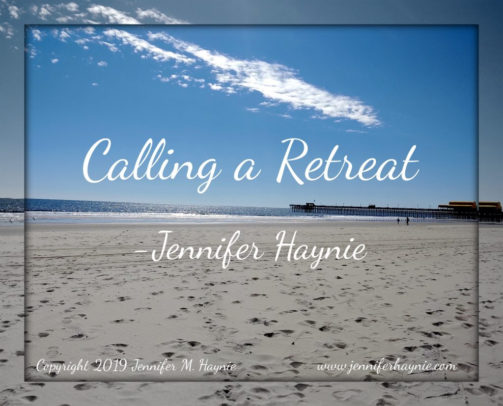 Calling a Retreat