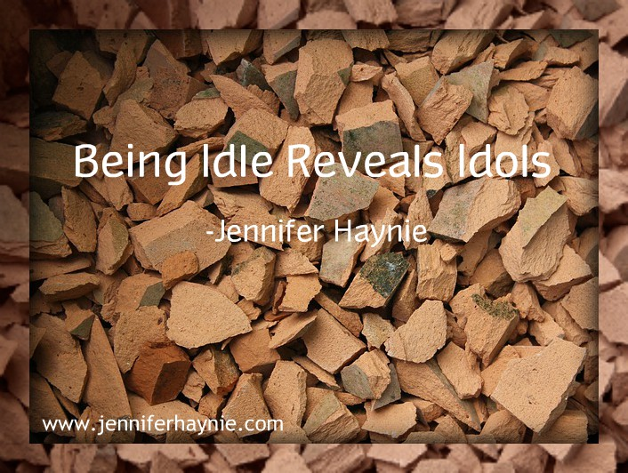 Being Idle Reveals Idols