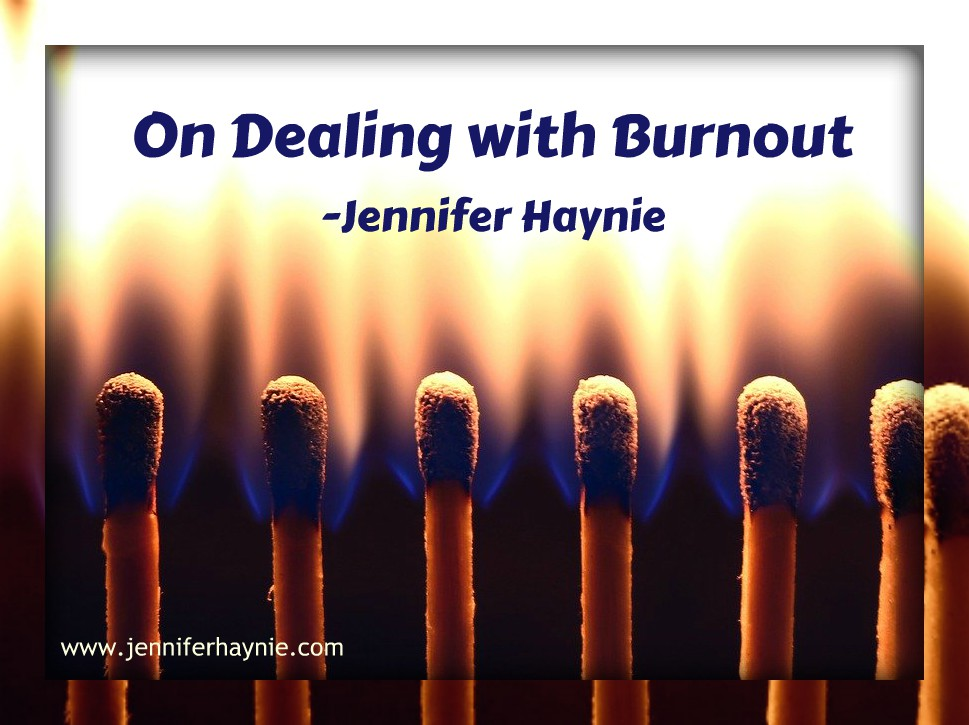 On Dealing with Burnout