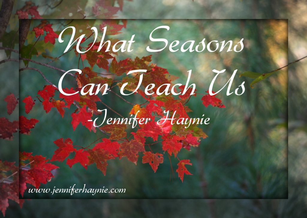 What Seasons Can Teach Us