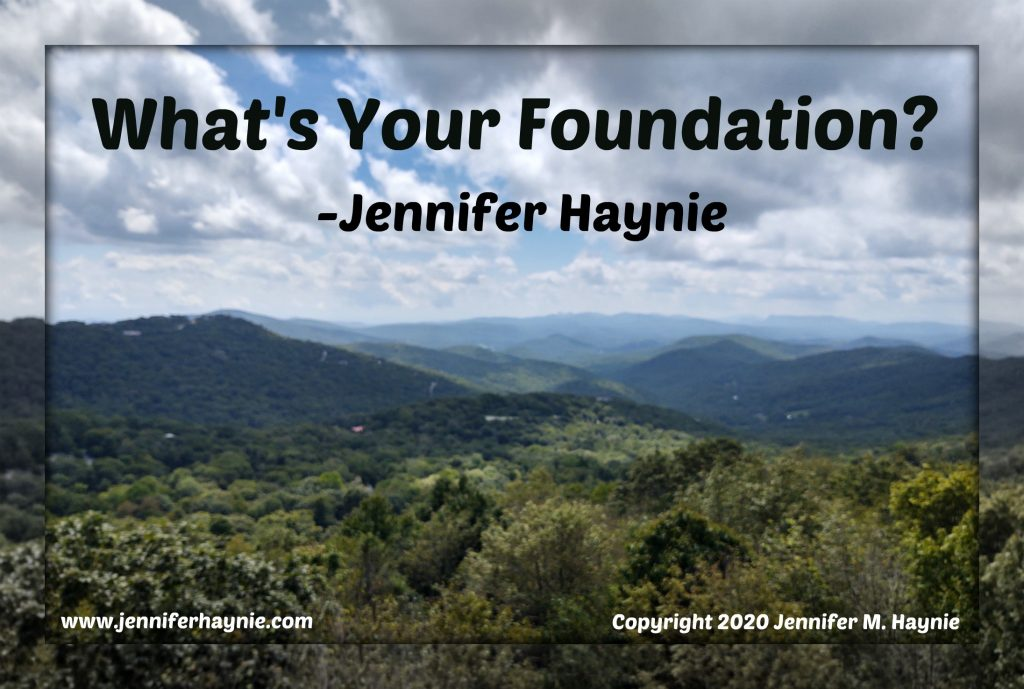 What's Your Foundation?