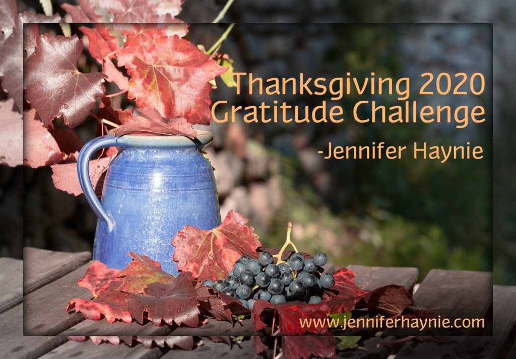 Thanksgiving 2020 Gratitude Challenge